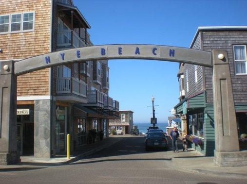 Ney Beach, Oregon.