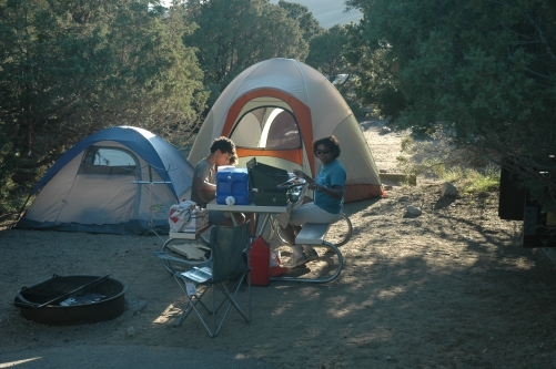 Pinyon Campground again.