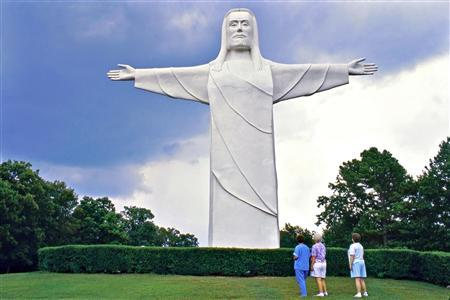 The Christ of the Ozarks