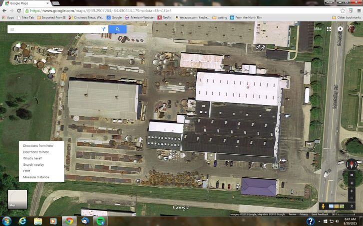google map view of Brighton Corp