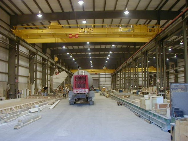 30-ton-double-girder-crane-manufacturing-concrete-products