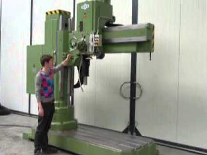 radial drill